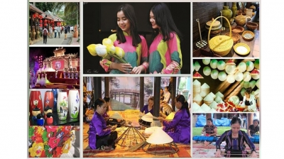 Various activities at Hue Traditional Craft Festival 2021