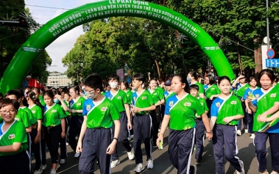 Campaign launched in HCMC to promote public exercise among public