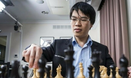 Grandmaster Le Quang Liem to compete in fifth stage of Champions Chess Tour