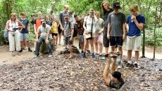 Cu Chi Tunnels on path of becoming world treasure