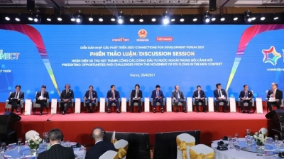 Connections for Development Forum enhances exchanges between domestic and foreign enterprises