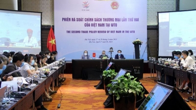Vietnam's 2nd WTO trade policy review session opens