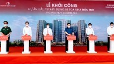 NA leader attends groundbreaking ceremony for Hai Phong's housing and commercial centre complex