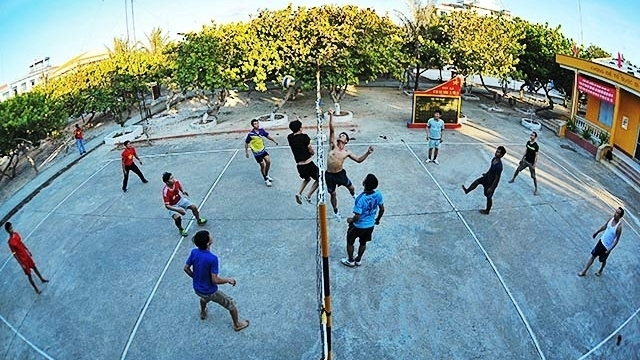 Sports on Truong Sa Archipelago