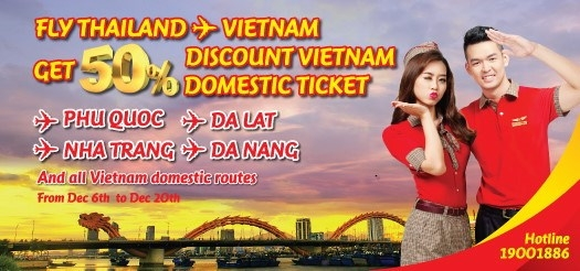 VietJet Air Flights! VietJet Air is a Vietnam-based low-cost international airline. Established in November and headquartered in Hanoi, it was the country's first privately owned new-age airline.
