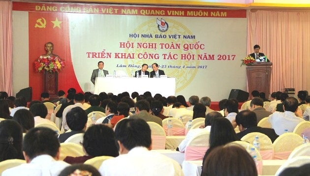 Vietnam Journalists' Association deploys tasks for 2017