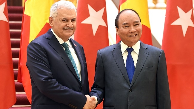 Vietnam and Turkey aim to double trade value by 2020