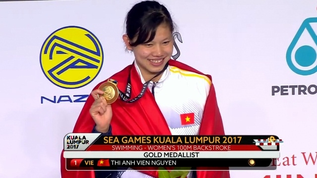 SEA Games 29: Vietnam's swimmers grab one gold, two bronzes