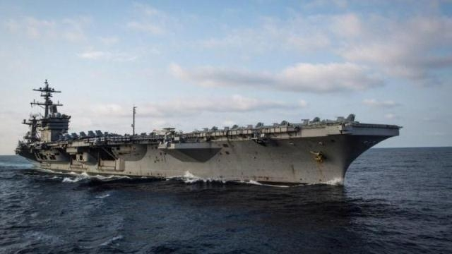 Navy aircraft carrier set for historic port visit to Vietnam