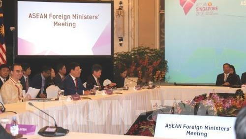 ASEAN Foreign Ministers' Meeting opens in Singapore
