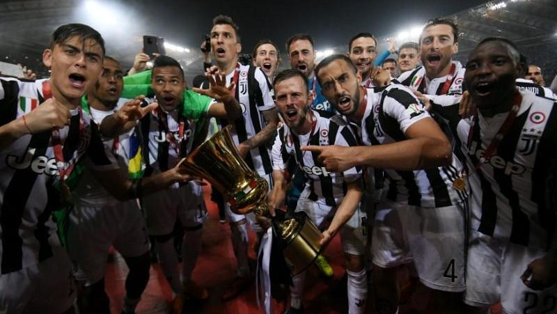 Juventus coach Allegri hails 'extraordinary' performance for Coppa Italia final triumph