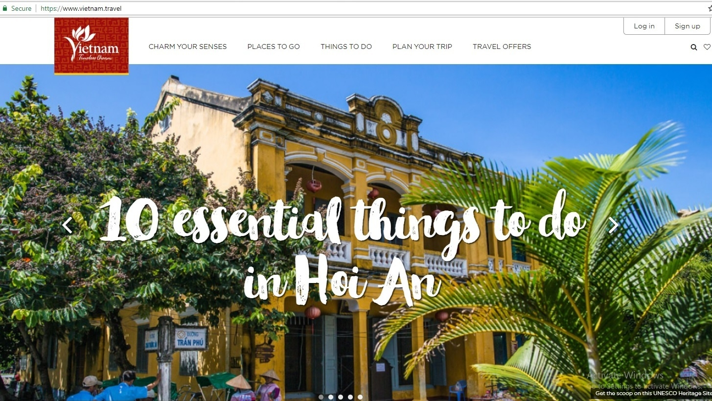Administration launches new website to promote Vietnamese