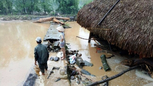Heavy rains, floods cause severe damage in northern localities
