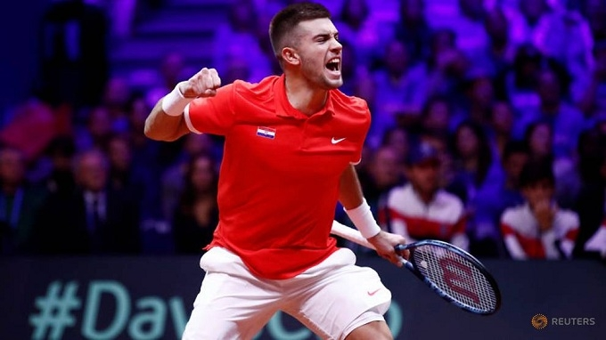 Croatia take charge of Davis Cup final