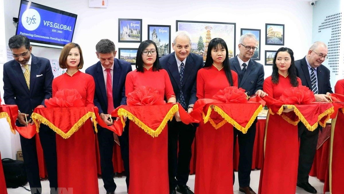 Belgium, Germany and Italy visa application centre opens in Da Nang