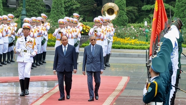 Vietnam, Malaysia issue joint statement