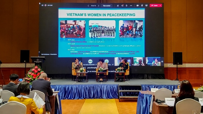Webinar discusses strengthening women's role in peace and security