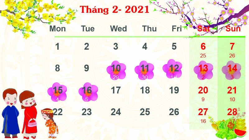 Vietnam to have seven-day holiday for Lunar New Year 2021 - Nhan Dan Online